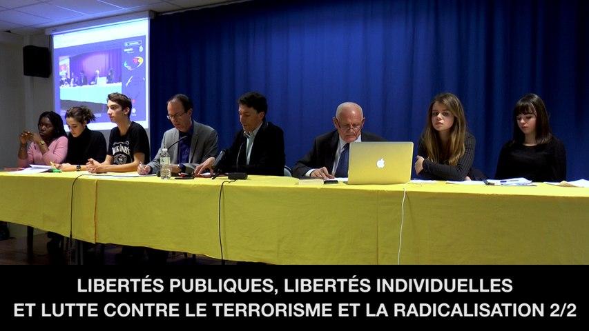 II. Libertés publiques, libertés individuelles et lutte contre le terrorisme et la radicalisation, Marc TRÉVIDIC