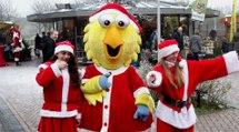 Leuke kerstmarkt winkelcentrum Maaswijk met veel muziek / Spijkenisse 2016
