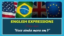 VOCÊ AINDA MORA EM em Inglês   Português HD