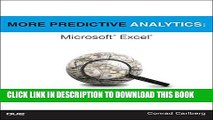 [PDF] More Predictive Analytics: Microsoft Excel Popular Collection