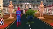 Spiderman Vs Skeleton Finger Family Children Nursery Rhymes | SuperHero Fun Compilation Epic Battles