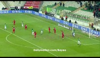 Pablo Batalla  Disallowed Goal HD - Bursaspor 0-0 Antalyaspor - 19.12.2016