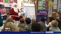 Pour Noël, ce petit garçon voulait voir son père. Mais ce qu'il découvre en voyant le père Noël le laisse bouche bée