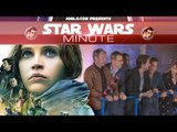 Rogue One in theaters, red carpet premiere & more - Star Wars Minute- Episode 70