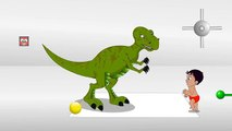 Funny Little Boy Playing with Dinosaur,Learn Numbers with Dinosaurs, Little Boy Dinosaur Learning Nu