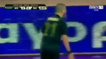 Aravidis RED CARD - AEK vs PAS Giannina 19-12-2016 HD