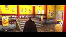 Batman Batmobile VS Zombie Lightning McQueen CARS Race HD 1080p (Custom Disney Pixar Cars)