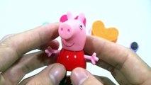 LeGo-GAMES EGGS FROZEN TOYS!!!!- Play-doh peppa pig español kinder surprise eggs 2016 videos