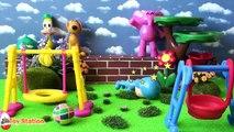 Five Little Pocoyo Jumping on the Wall Nursery Rhyme | Five Little Monkeys Jumping on the Bed