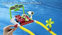 Cars Hydro Wheels in Action Disney Pixar Cars Splash Speedway Max Schnell Jeff Gorvette McQueen