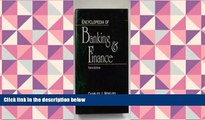 PDF [FREE] DOWNLOAD  Encyclopedia of Banking   Finance (Encyclopedia of Banking and Finance) FOR