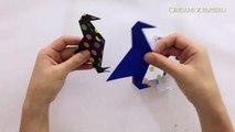Ptak z papieru origami krok po kroku po polsku