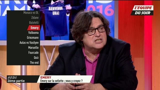 Foot - EDS - Paris-SG : Emery sur la sellette. Vous y croyez ?
