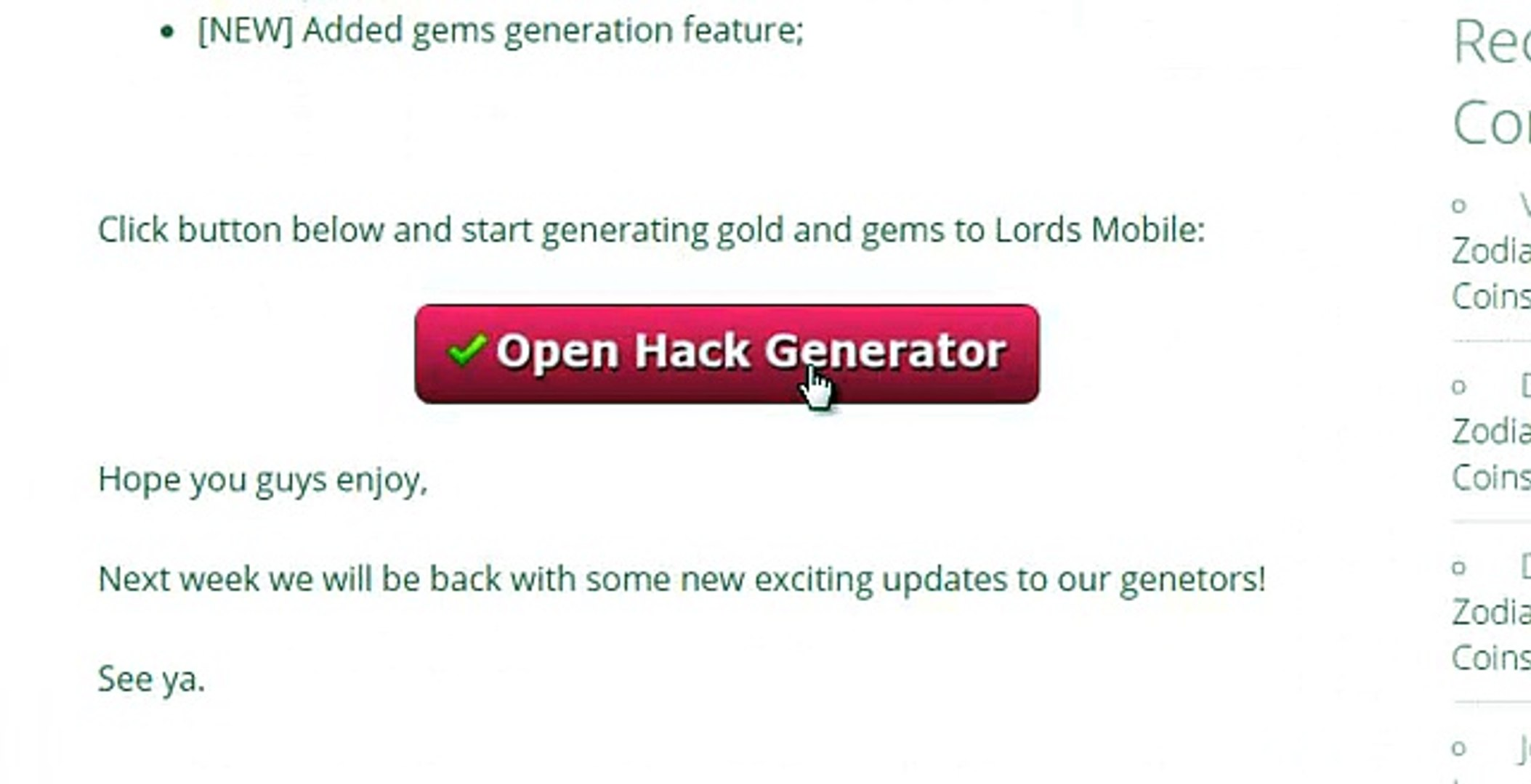Lords Mobile: FREE Gold and Gems (Online Generator)