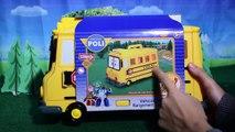 ROBOCAR POLI School Bus ☆ ROBOCAR POLI Le bus scolaire ☆ ROBOCAR POLI el bus escolar