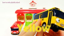 Learn Colors Numbers Play Doh with little bus Tayo car Molds Fun Creative for Kids 플레이도우 칼라 색상놀이 동영