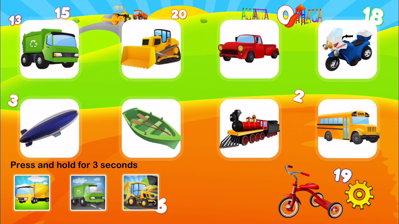 Counting Trucks | Learn To Count With Trucks, Police Cars, Fire Trucks, Dump Trucks, Monster Trucks