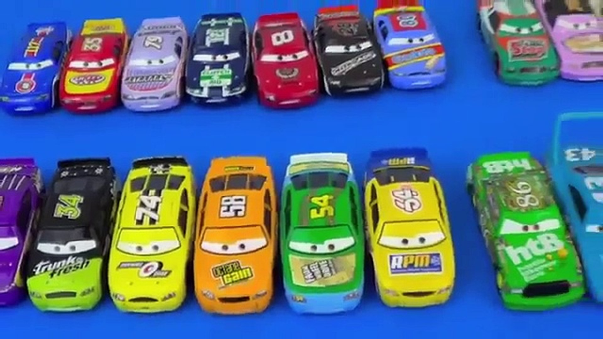 Our Piston Cars Collection 20 Disney Cars Race Cars from 1st Disney Pixar Cars Movie Diecasts