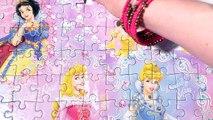 Clementoni JEWELS PUZZLE Disney Princess Games 104-piece Kids Toddler Puzzels De