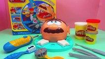 play doh dentiste en francais pâte à modeler - essayez de réparer les dents cariés