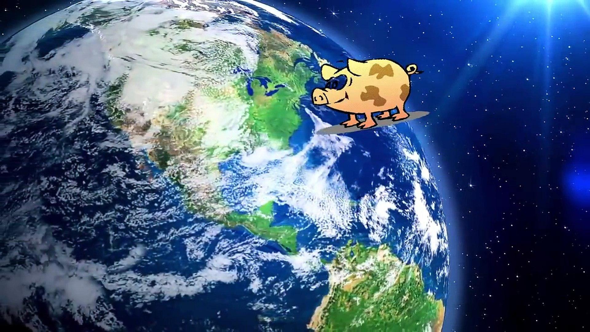 Мультик космос с животными от 1 до 6 лет
