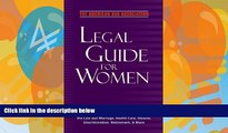 Buy The American Bar Association The American Bar Association Legal Guide for Women: What every