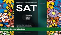 Pre Order SAT Reading Comprehension Workbook: Advanced Practice Series (Volume 1) Khalid