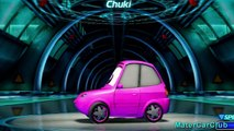 Chuki Disney Cars Color Changers Custom Paint! Pixar Cars 2 Video Game Character!