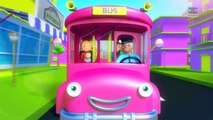 Wheels On The Bus   Nursery Rhymes For Baby And Kids   Childrens Song   3D Rhymes