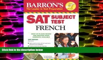 Buy Renée White SAT Subject Test French: With 3 Audio CDs (Barron s SAT Subject Test French