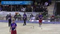 Finale double, Sport Boules, Euro Masculin, Nice 2016