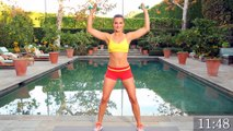 13-Minute Total Body Workout with Dumbbells   Strength Training for Women 80-130 Calories