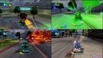 Cars 2 The Video Game TOKYO MATER vs MATER THE GREATER vs MATER IVAN vs MATERHOSEN 4 Player