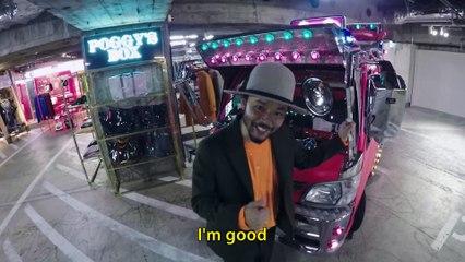 Nigel Sylvester se téléporte à Tokyo pour une virée touristique !