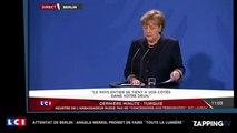 Attentat de Berlin: Angela Merkel est ''saisie d'effroi'' et dénonce un ''acte ignoble''