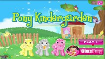 Pony Kindergarden - Pony Care Game for Kids - Pony Games