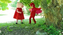 PJ Masks Episode Owlette Saves Peppa Pig from Villain Romeo - Paw Patrol Goes to Jail