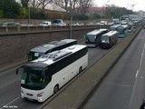 Paris : plus de 300 autocars manifestent contre la politique anti-diesel