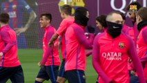 FC Barcelona training session: Final session before the Copa del Rey game