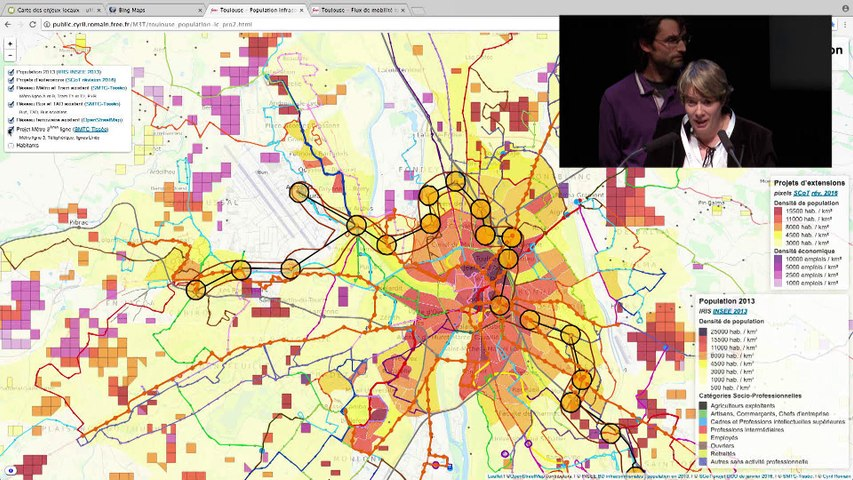 Compte rendu des ateliers de cartographie par N. Durand & parole à la salle