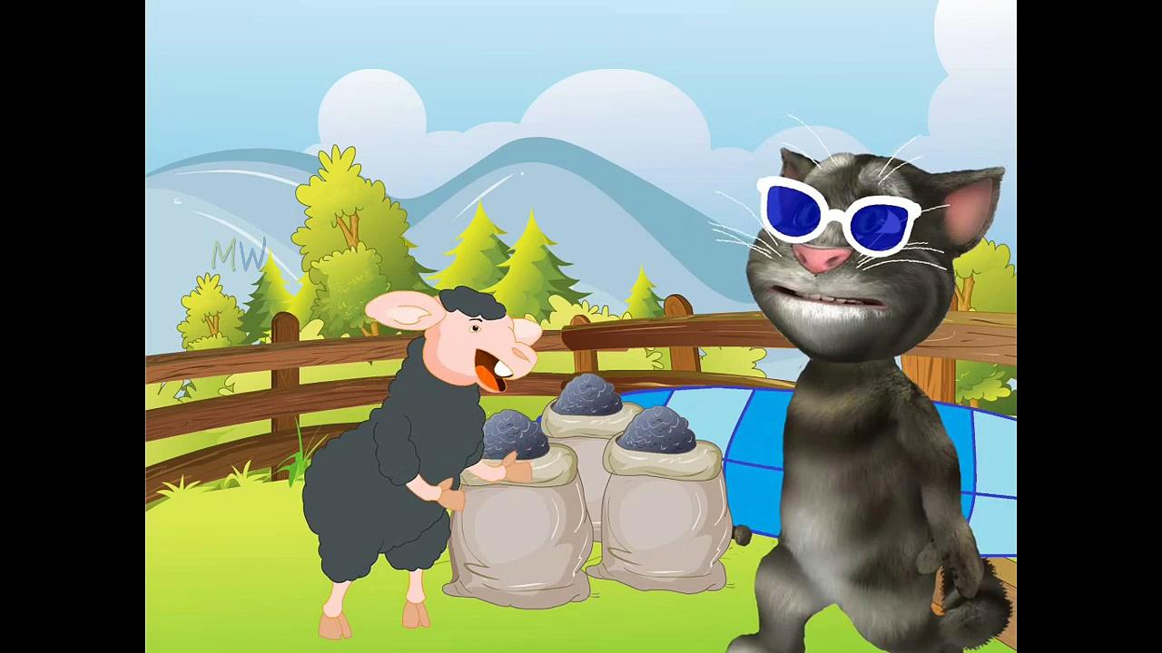 Baa Baa Black Sheep Nursery Rhyme with Lyrics | Most Popular Nursery Rhymes | Baa Baa Black Sheep