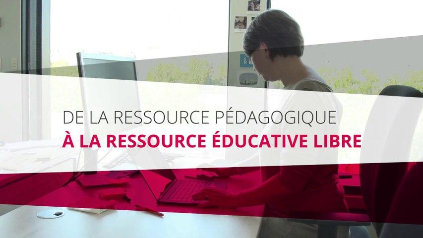 De la ressource pédagogique à la ressource éducative libre