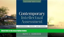 Pre Order Contemporary Intellectual Assessment, Second Edition: Theories, Tests, and Issues