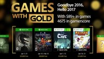 FREE Xbox Games with Gold (January 2017)