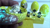 3 MINIONS SURPRISE EGGS & TOYS | Open 3 Minions Surprise Eggs - 3