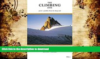 READ The Climbing Zine, Volume 6: Prose and Parables from the Sharp End