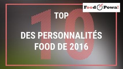 Top 10 des personnalités food de 2016