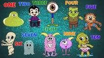 Halloween Song ♫ Halloween Songs For Children ♫ Halloween Halloween ♫ 10 Little Monsters ♫ Kids Song