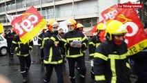 Saint-Brieuc. Journée de mobilisation pour les pompiers des Côtes-d'Armor