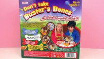 DONT TAKE BUSTERS BONES - Dont wake up the sleeping dog! - funny game for kids